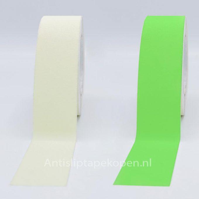 antislip tape glow in the dark wit 50 mm