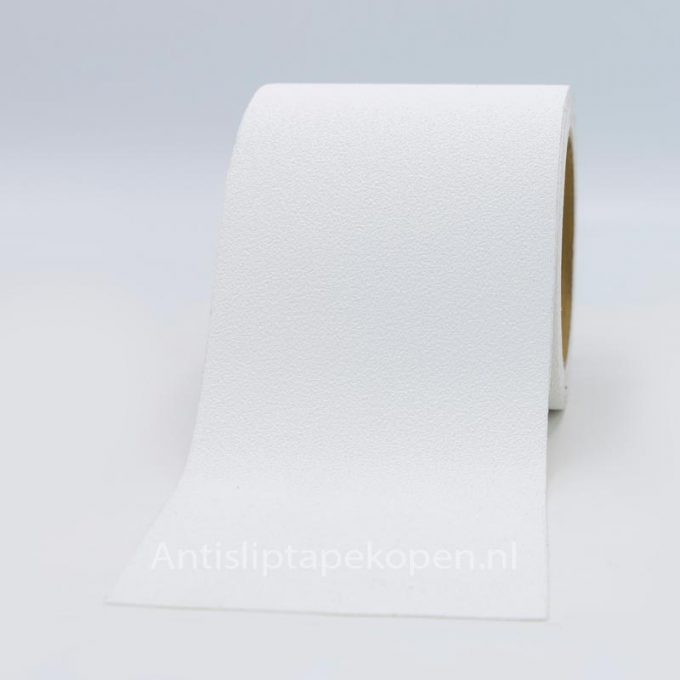 antislip tape blote voeten wit 100 mm
