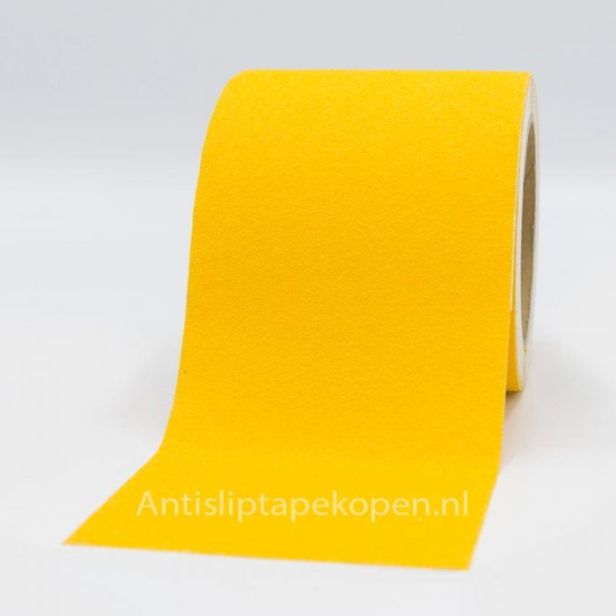 antislip tape geel 100 mm.