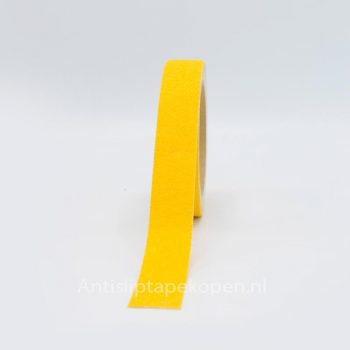 antislip tape geel 25 mm.